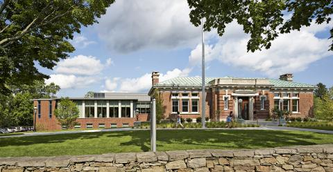 Ridgefield Library building
